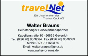 Reisevertriebspartner Brauns